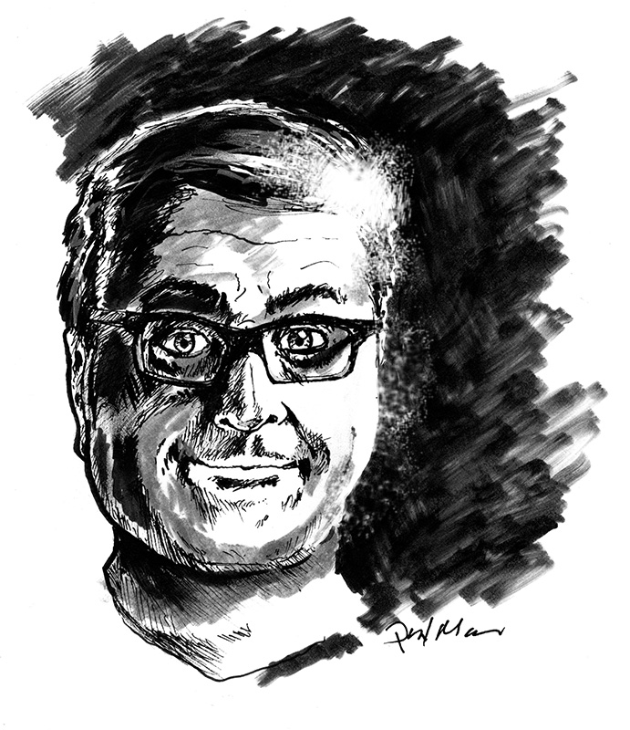 Of Chetan. Ok drawing of an ok guy.
